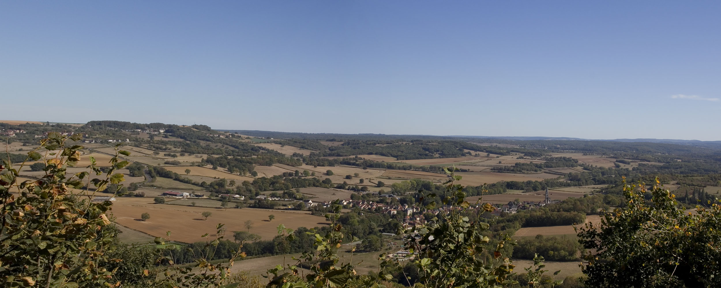 panorama Vezelay